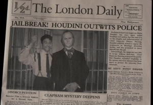 Jailbreak! Houdini Outwits Police